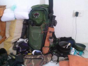 Backpack Setup
