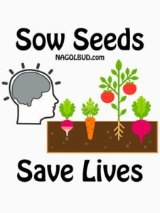 Plant Seeds Save Lives